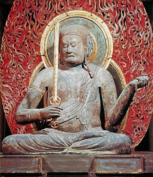 東寺講堂・不動明王坐像(日本の美術「貞観彫刻」至文堂刊掲載)