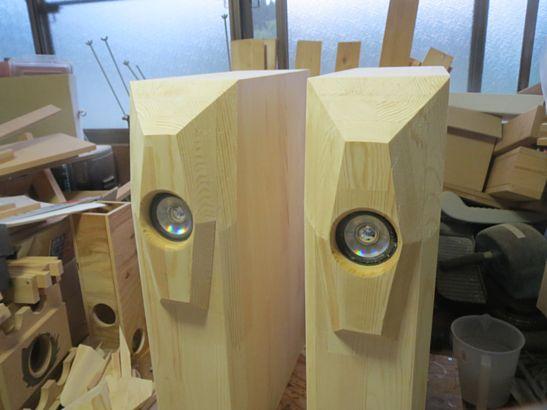 200円ユニットバックロードバスレフ本気箱の製作 5
