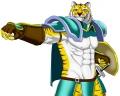 虎剣士ポーズ