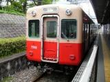 阪神7890・7990形7890F 武庫川にて(2012年撮影)