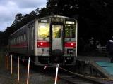 JR増毛駅(2015年9月) キハ54-529