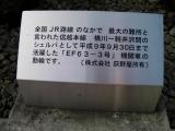 JR(信)横川駅 EF63-3号機動輪 説明