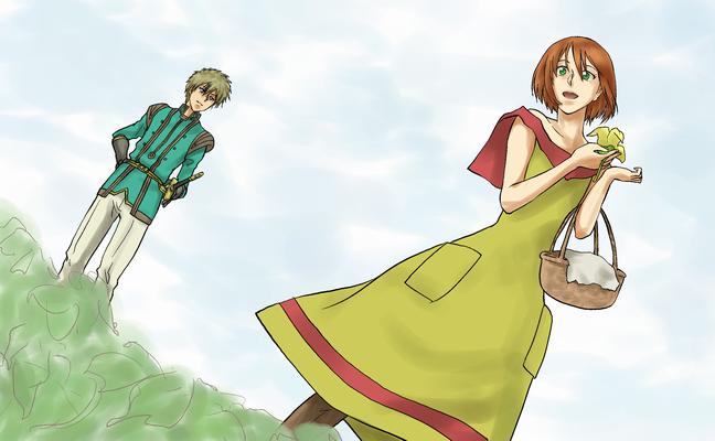 赤髪の白雪姫1改