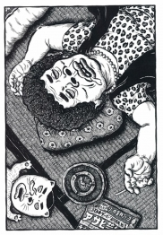 寝顔絵おばさんJPEG改