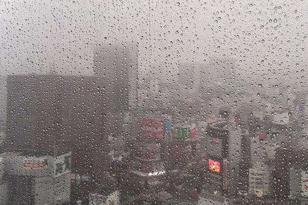 今日は朝からずっと雨でしたね。