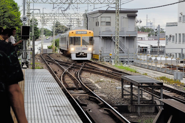 井の頭線、吉祥寺駅