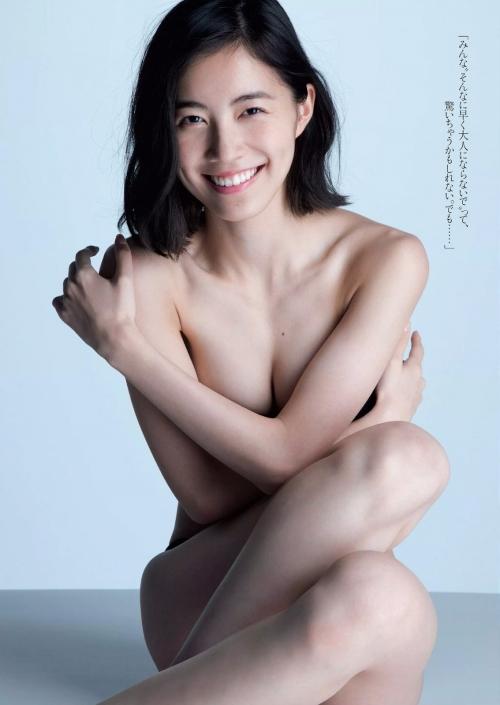 松井珠理奈のセミヌード