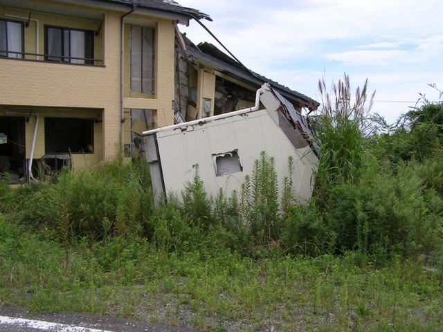 倒壊家屋0912