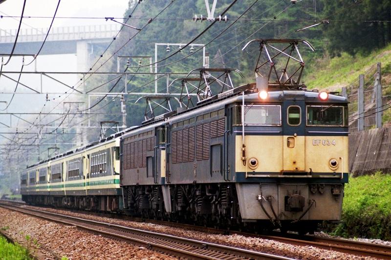 1997年4月21日 熊ノ平(信)~横川にて (10)