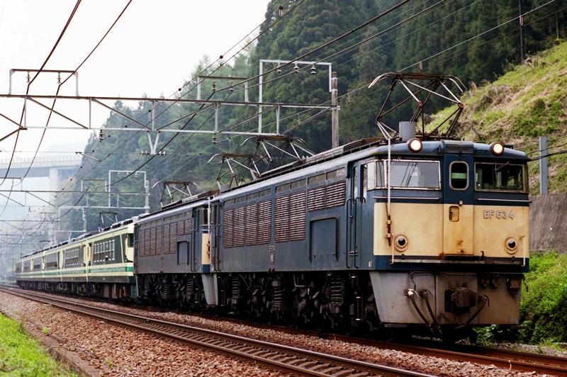 1997年4月21日 熊ノ平(信)~横川にて (11)
