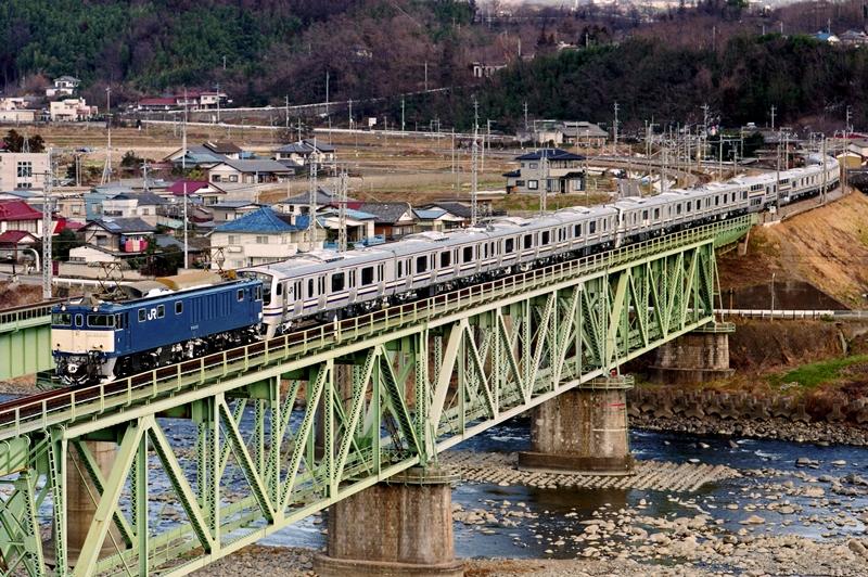 1998年2月4日 敷島~渋川にて