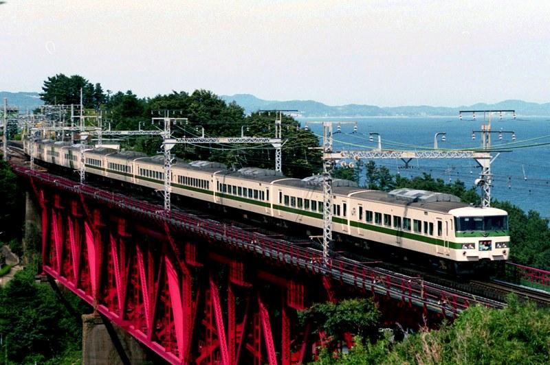 1990年8月16日 根府川~真鶴にて (5)