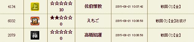 くじ履歴26