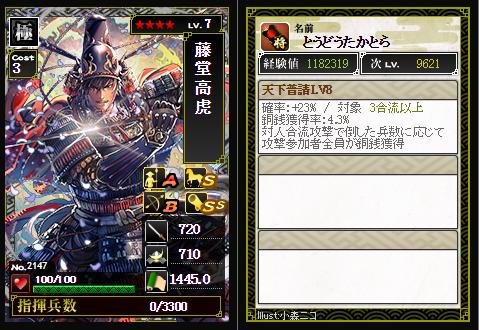 藤堂高虎 51+52
