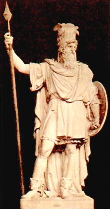 グングニル像