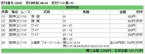 2015-09-12阪神11RエニフS-的中馬券