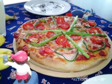 おうちで手作りピザ3