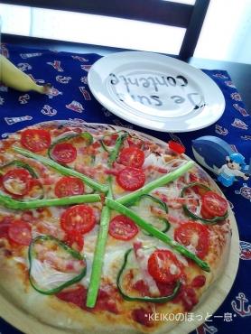 おうちで手作りピザ4