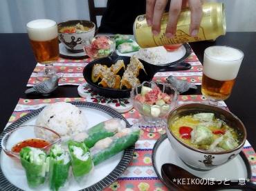 エスニック料理と坊っちゃんカボチャと無花果5