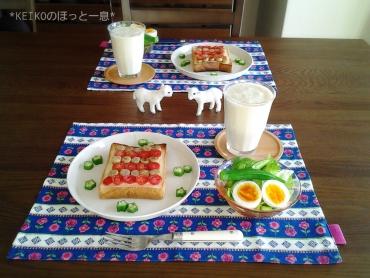 トマト&ウインナーパン