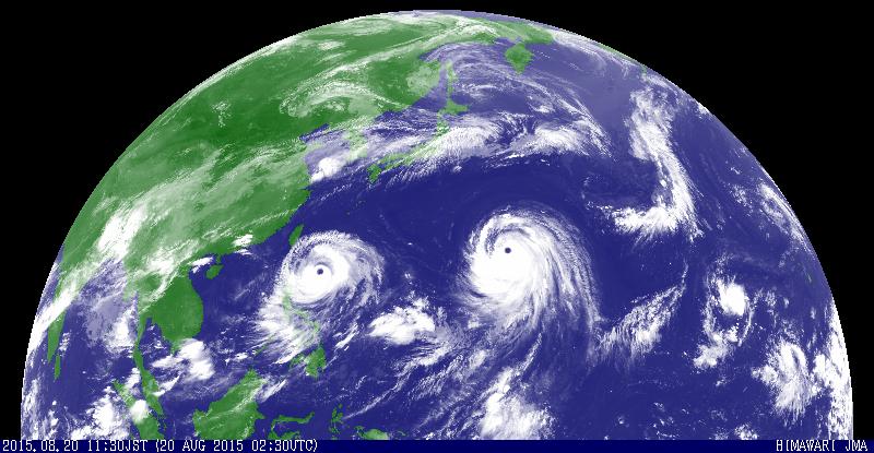 ダブル台風