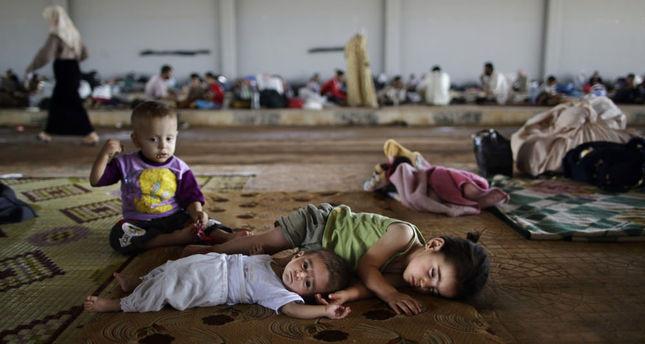 難民の子供