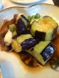 京茄子と穴子の唐揚げポン酢