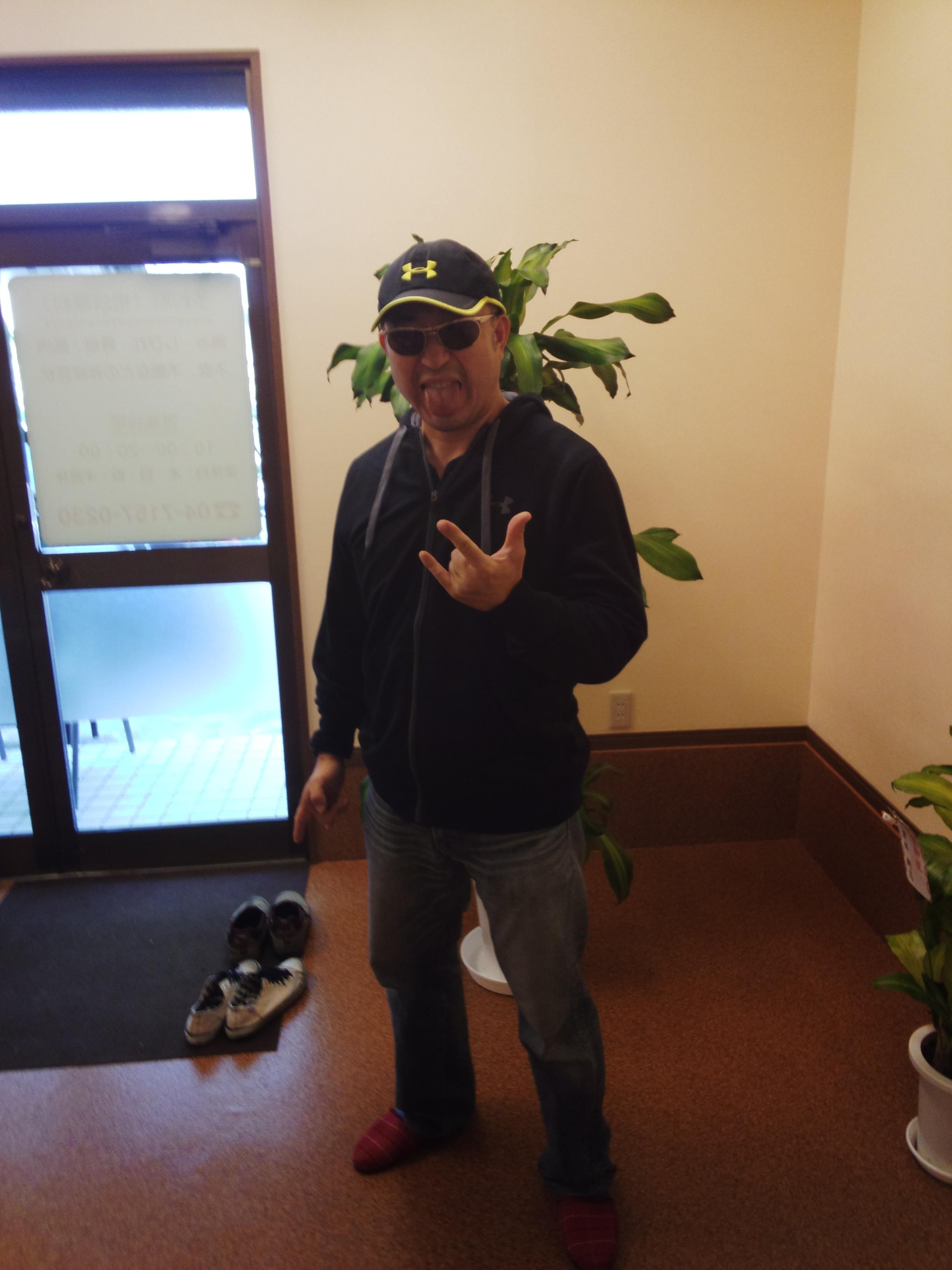 最初の訪問者鈴木さん