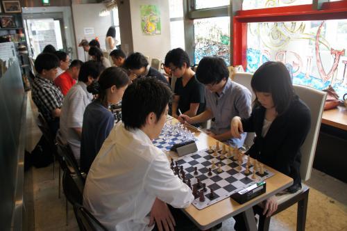 4チェス大会風景2