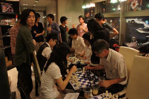 9チェス大会打ち上げ