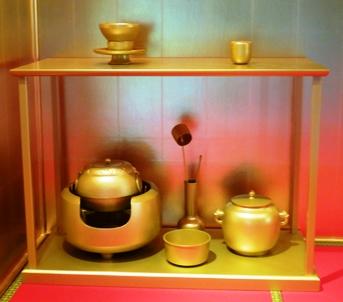 黄金の茶道具