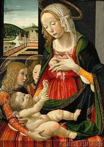 mainardi(帰属)聖母子