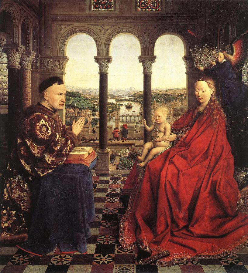 eyckロランの聖母