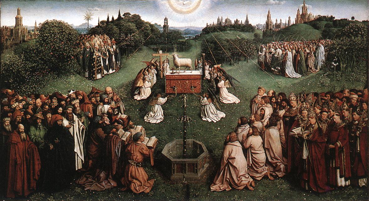 eyck子羊の礼拝