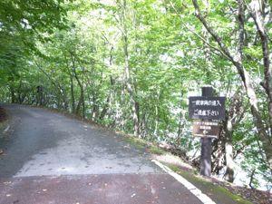 イタリア大使館別荘記念公園遊歩道