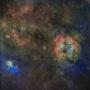 ケフェウス座の散光星雲