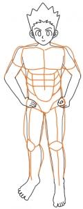 筋肉練習ごんさん筋肉つけたし