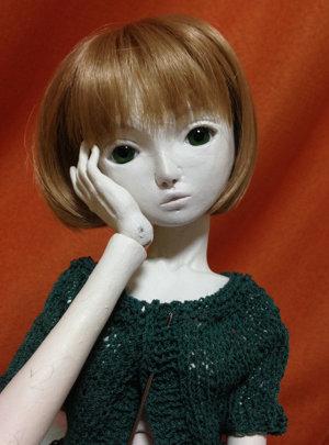 20150828 球体関節人形 仮組完了