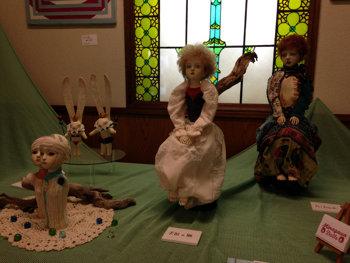 20150905 球体関節人形 先生の展示会