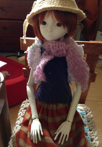 20151008 球体関節人形 衣装