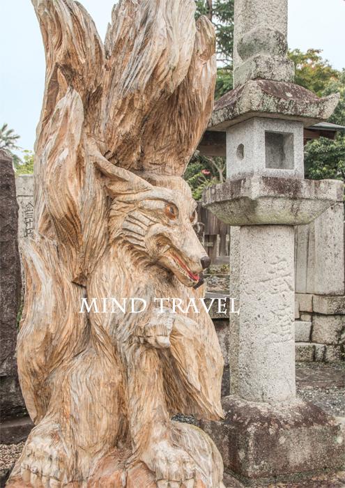 勝山 化生寺 九尾の狐