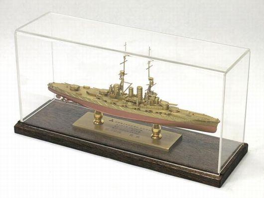 三菱重工業 長崎造船所 巡洋戦艦「霧島」金属製