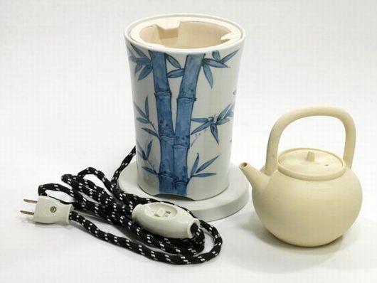 煎茶道具 伝熱涼炉 長養在銘 ボーフラ セット