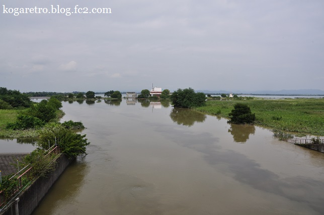 大雨の後の遊水地(2)2