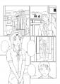森島スキ&棚町ナカヨシ2ページ塗り前