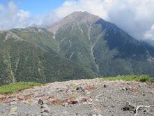 小兎岳からの赤石岳