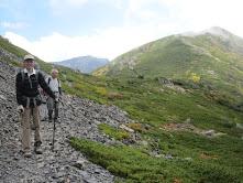 小兎岳から中盛丸山へ