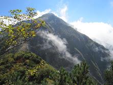 兎岳コルから聖岳