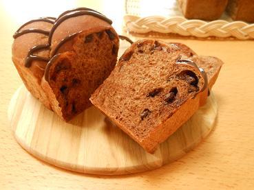 201509 チョコレートのパンa