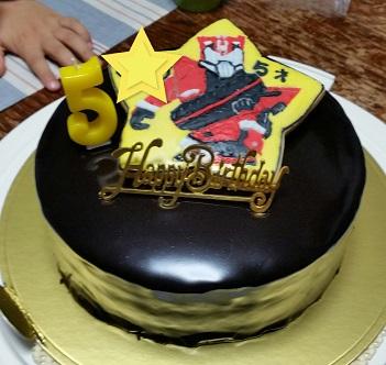 仮面ライダードライブデコケーキ